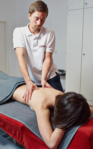 Physiotherapie Aschaffenburg | Wohlfühl-Massage zum Entspannen
